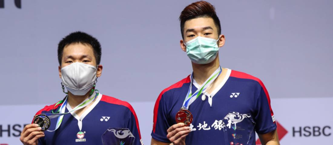 Lee Yang/Wang Chi Lin (Taiwan) juara Yonex Thailand Open 2020 BWF World Tour Super 1000. (Copyright: Badmintonphoto | Courtesy of BWF)