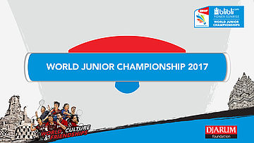 WORLD JUNIOR CHAMPIONSHIP 2017 | XD R128 | HORAK/ TARCALOVA (SVK) vs CHIKUGO/YURA (JPN)