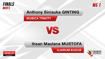 FINALS | Men's Teams | DJARUM KUDUS VS MUSICA TRINITY