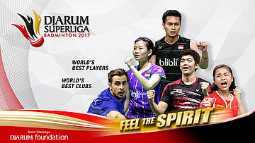 Day 2 | Djarum Superliga Badminton 2017