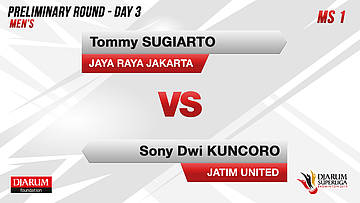 PRELIMINARY ROUNDS | Men's Teams | JAYA RAYA JAKARTA VS JATIM UNITED