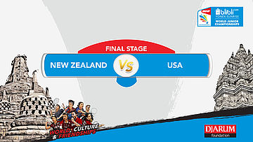 BLIBLI.COM WJC 2017 | FINAL STAGE | NEW ZEALAND vs USA | MD