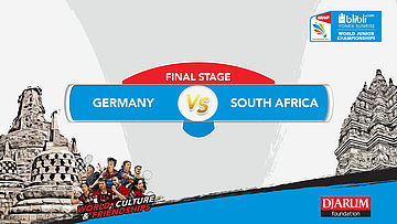 BLIBLI.COM WJC 2017 | FINAL STAGE | GERMANY vs SOUTH AFRICA | XD