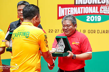 Caffino Indonesia International Challenge 2019 | Podium