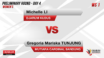 PRELIMINARY ROUNDS | Women's Teams | DJARUM KUDUS VS MUTIARA CARDINAL BANDUNG