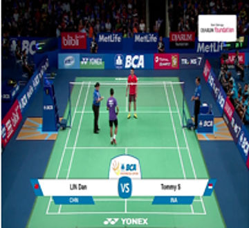 Lin Dan (CHINA) VS Tommy Sugiarto (INA)