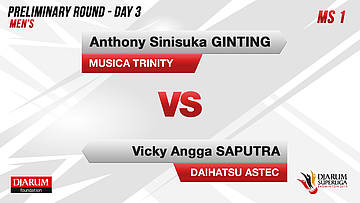 PRELIMINARY ROUNDS | Men's Teams | MUSICA TRINITY VS DAIHATSU ASTEC