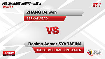 PRELIMINARY ROUNDS | Women's Teams | BERKAT ABADI VS TIKET.COM CHAMPION KLATEN