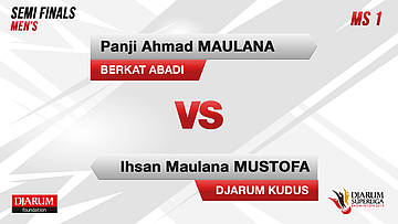SEMIFINALS | Men's Teams | DJARUM KUDUS VS BERKAT ABADI BANJARMASIN