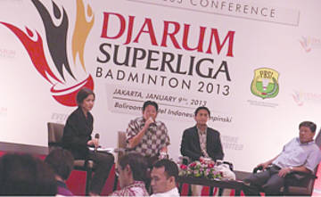 Press Conference | Djarum Superliga Badminton 2013