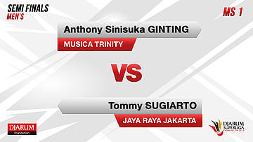 SEMIFINALS | Men's Teams | MUSICA TRINITY VS JAYA RAYA JAKARTA
