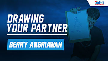 Drawing Your Partner with Berry Angriawan at Blibli Indonesia Open 2018