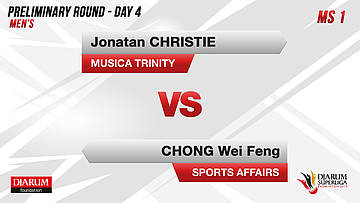 PRELIMINARY ROUNDS | Men's Teams | MUSICA TRINITY VS SPORTS AFFAIRS MALAYSIA