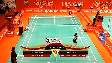 Day 2 | Djarum Superliga Badminton 2013