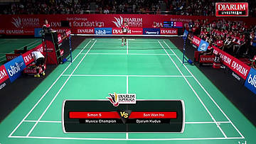 Day 8 | Djarum Superliga Badminton 2015